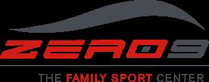 logo zero9 centro sportivo roma eur