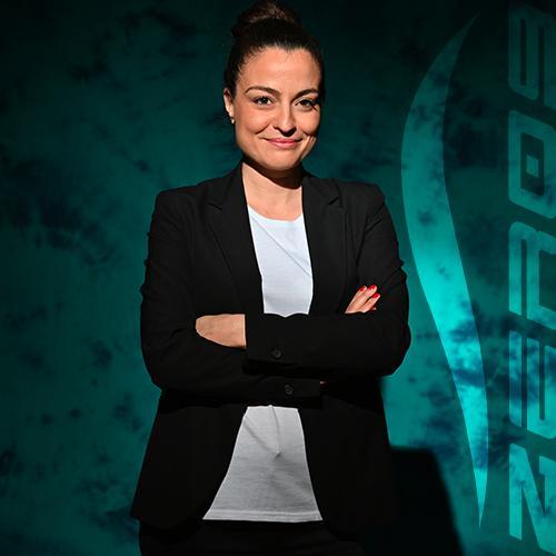 Daniela Annibali responsabile segreteria comunicazione e marketing zero9 roma